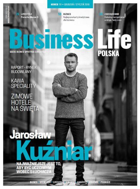 Okładka najnowszego wydania Business Life Polska
