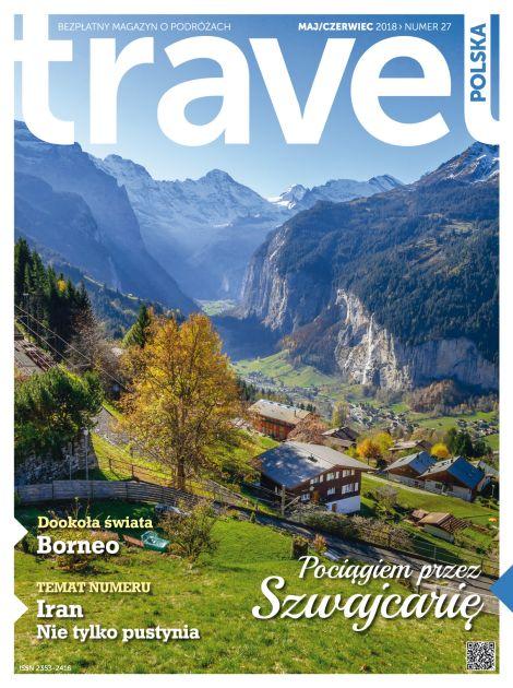 Okładka najnowszego wydania Travel Polska